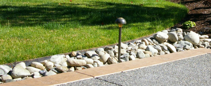 Steel Edging With Terrain | Terrain - Excavate and Landscape